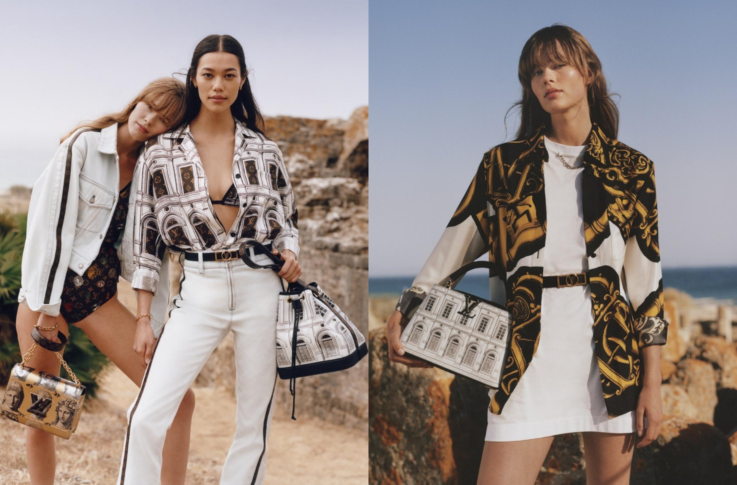 Louis Vuitton hé lộ BST mới đón đầu nghệ thuật cổ đại