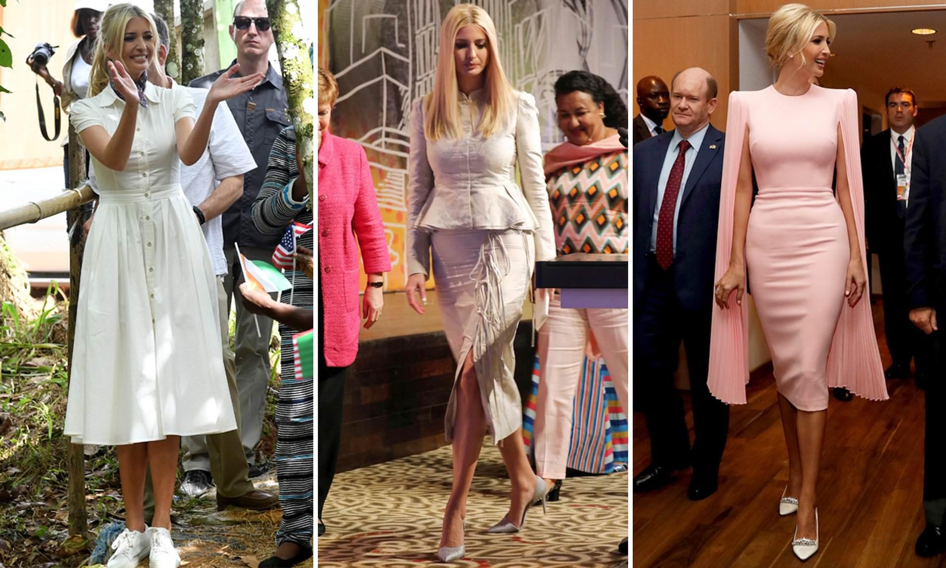 Học lỏm phong cách thời trang công sở đầy tinh tế của Ivanka Trump