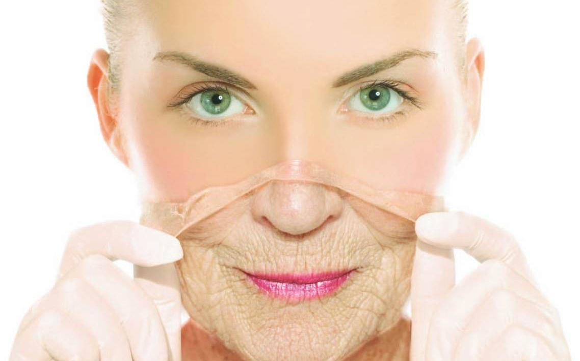 Cùng với thời gian, làn da có những dấu hiệu lão hóa