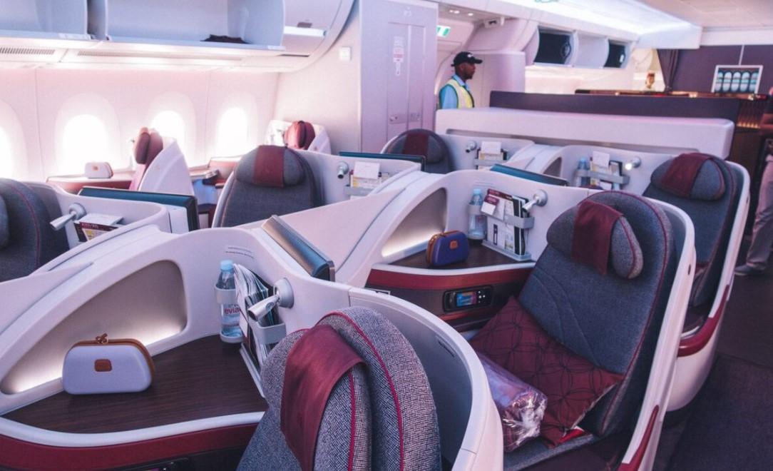 Vị trí ngồi tiện lợi khi mang theo nhiều hành lý và có trẻ em