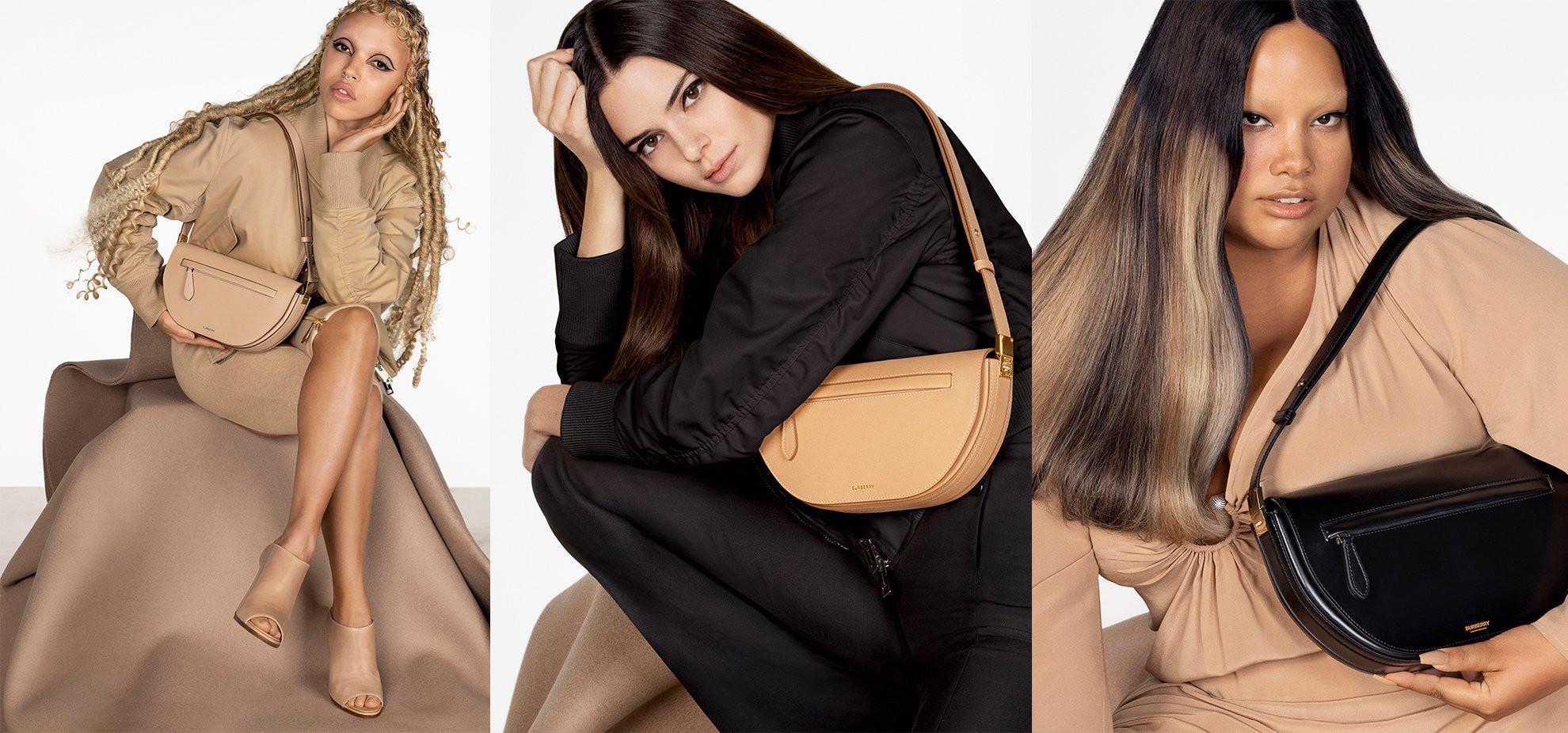 Chiến dịch quảng bá túi Burberry cùng siêu mẫu Kendall Jenner