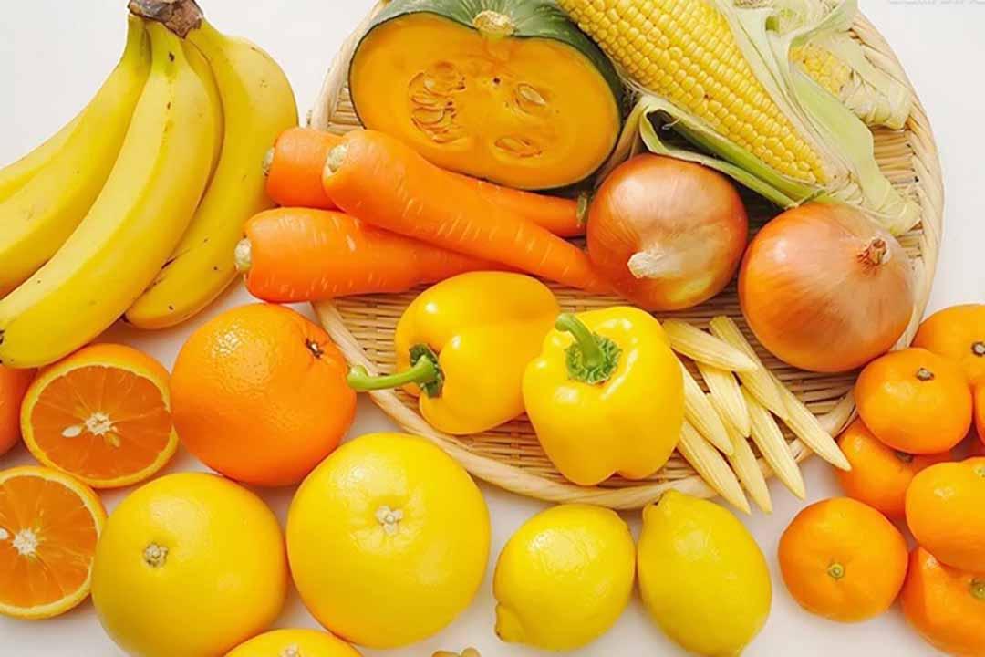 Gợi ý những thực phẩm có màu vàng rất tốt cho sức khỏe của trẻ